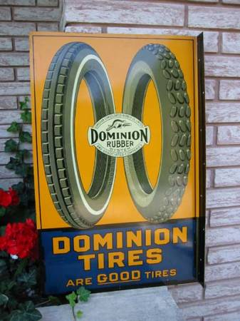 Dominion Tire sign ,paid $3000,sold $4000.jpg