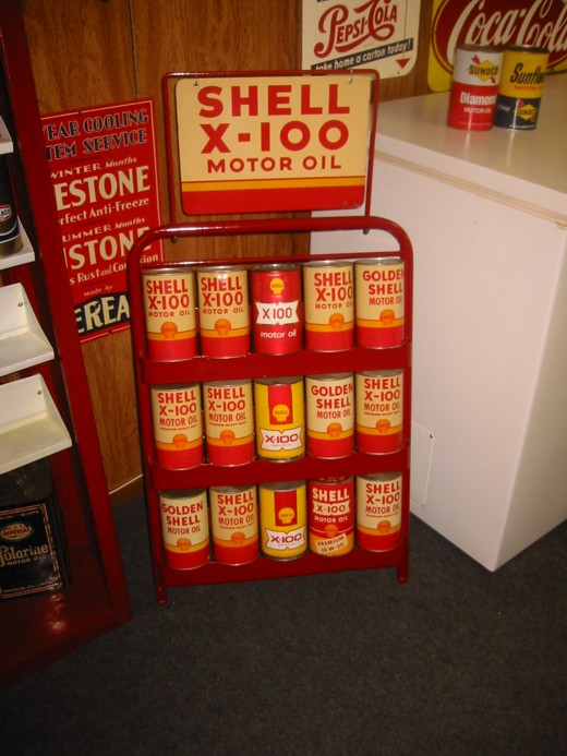 Shell oil can rack.JPG