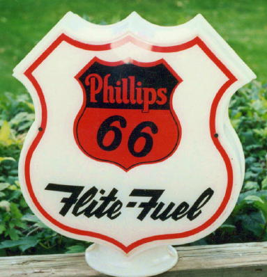 Phillips 66 flight fuel globe  - Primarily Petroliana Shop Talk