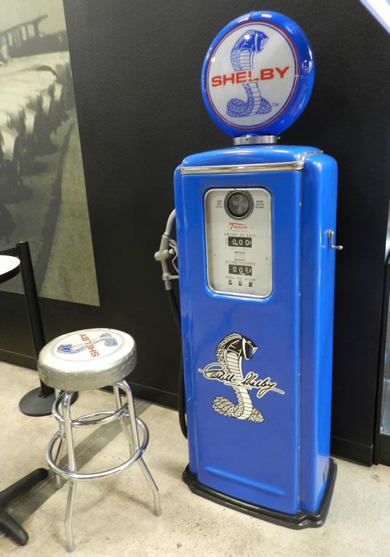 Shelby Cobra Gas Pump - Primarily Petroliana Shop Talk