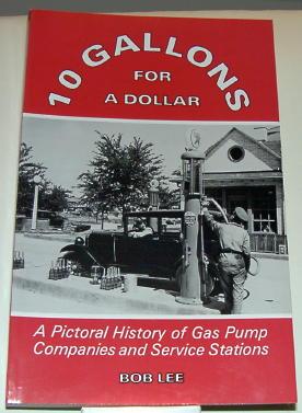 3 Gas Pump books by Bob Lee - Primarily Petroliana Shop Talk