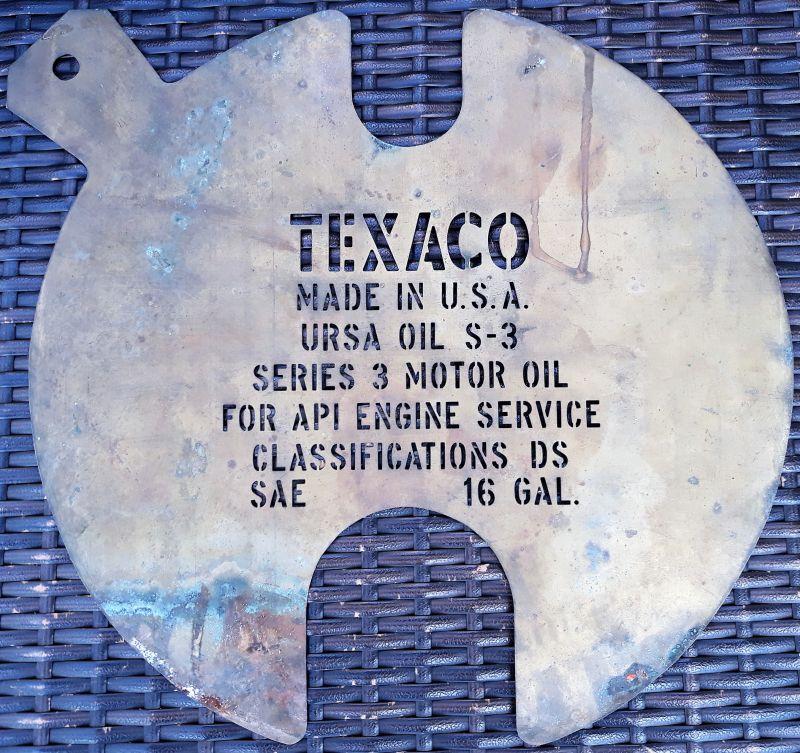 Help on value of stencils Texaco - Primarily Petroliana Shop Talk