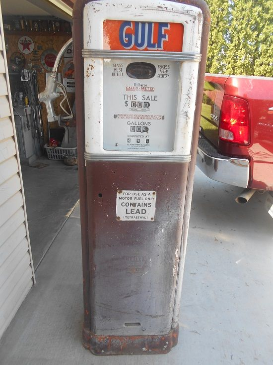 GILBARCO 96C gas pump - Primarily Petroliana Shop Talk