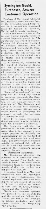 Symington buys M&S w 5 year contracts  Nov 1949.jpg