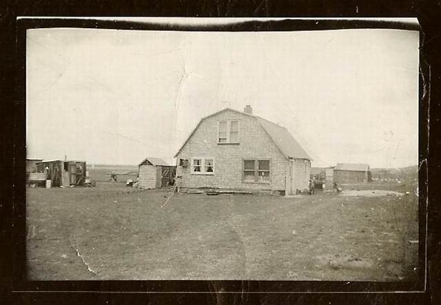 Attached picture The old house out south about 1948.jpg