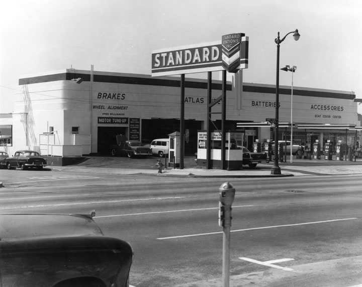 Attached picture StandardServiceStationonSunset.jpg