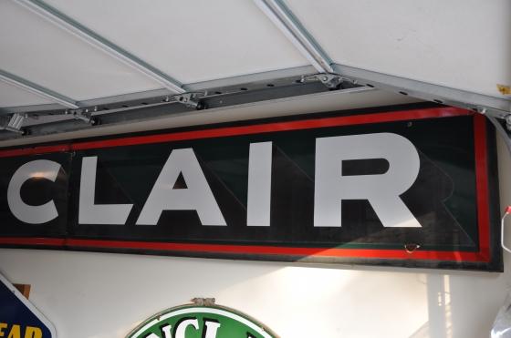SINCLAIR 14ft 2 piece sign NICE - Primarily Petroliana Shop Talk