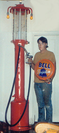 Attached picture dickbennettand1stpump.jpg