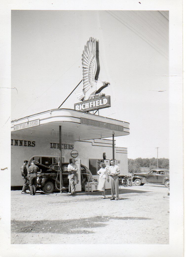 Attached picture El Rancho Drive In.JPG