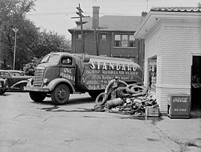 Attached picture ScrapDriveDetroit1942.jpg