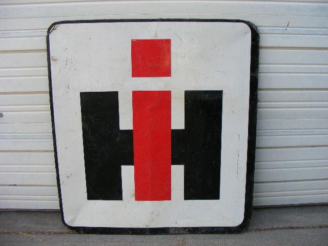 Wanted International Harvester Sign Primarily Petroliana Shop Talk