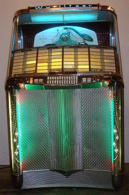 1956 Wurlitzer Model 1900 Centennial Jukebox - Primarily Petroliana