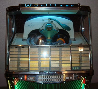 1956 Wurlitzer Model 1900 Centennial Jukebox - Primarily