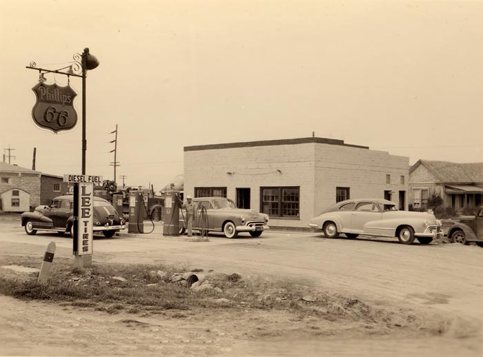 Attached picture old-gas-station.jpg
