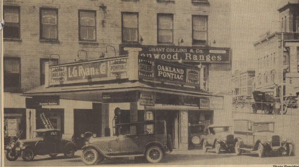 Attached picture doc gormans building....back in the day.jpg