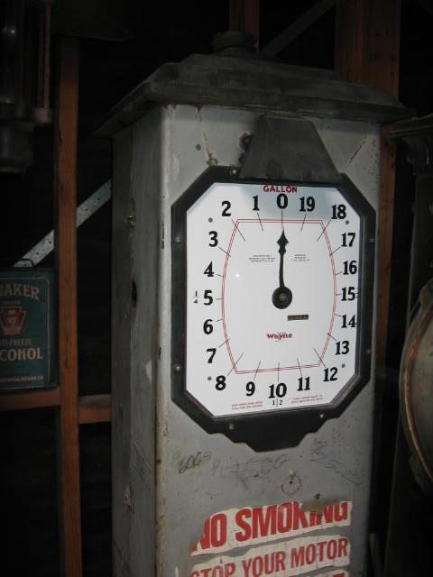 Let's see Clock-Face pumps - Primarily Petroliana Shop Talk