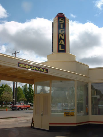 Signal Gas Station Restored In Portland Oregon