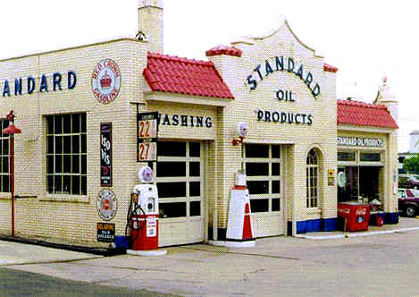 Red Crown Gas Station Museum