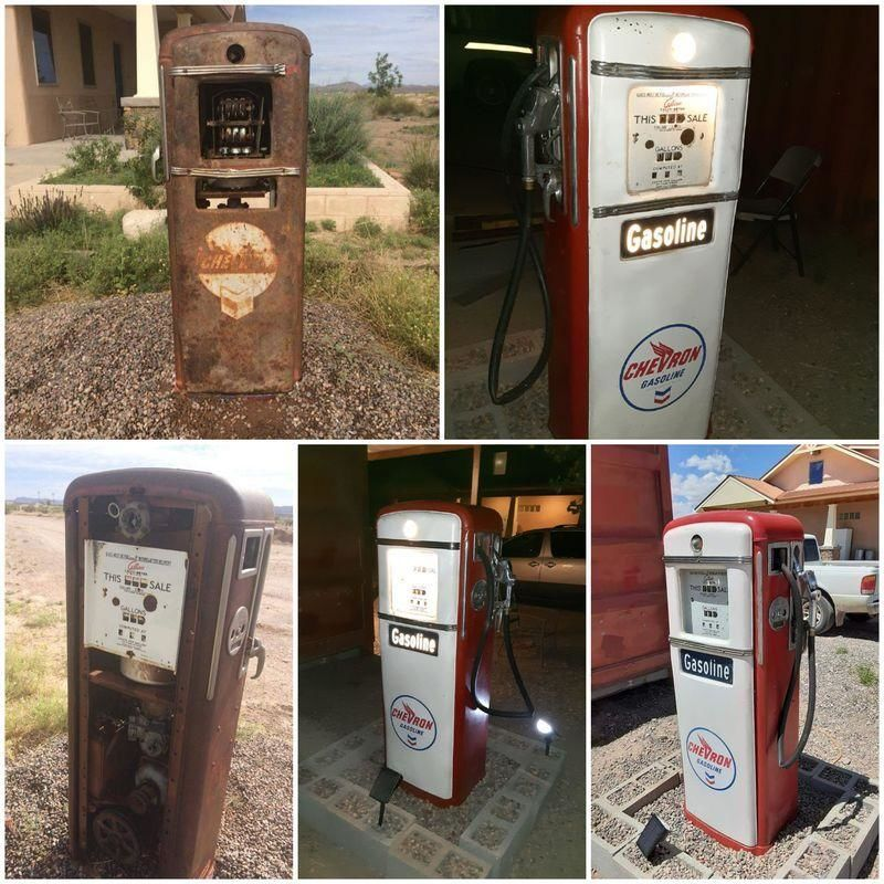 Gilbarco 996 model gas pump