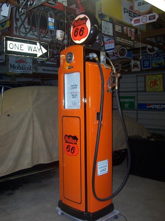BENNETT 541 GAS PUMP INNER AD GLASS RETAINER