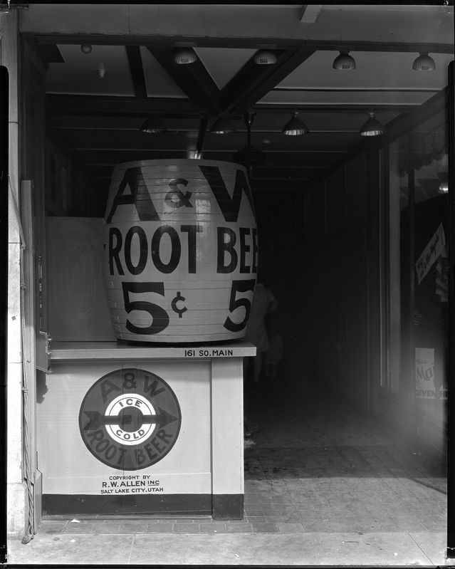A_W_Root_Beer_Company_Entrance_to_Station_at_161_South_Main.jpg