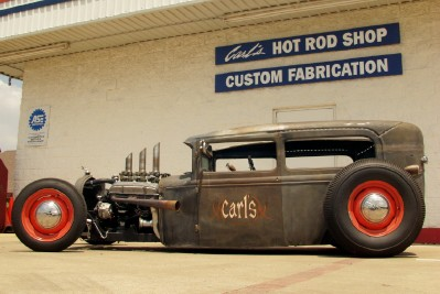 Rat Rod Tok  39 build pictures! - Primarily Petroliana Shop Talk