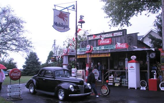Oldgas member backyard station