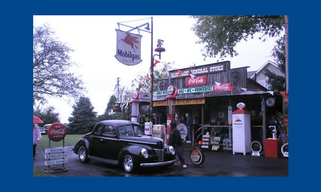 Old Fashioned Gas Station Signs